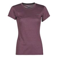 Vêtements Femme T-shirts manches courtes adidas Performance W Tivid Tee Violet