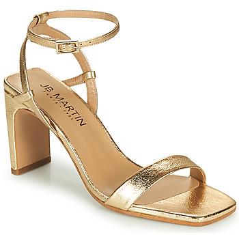 Chaussures Femme Sandales et Nu-pieds JB Martin 1DITA Doré