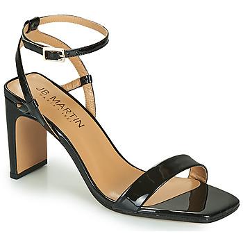 Chaussures Fille Sandales et Nu-pieds JB Martin 1DITA Noir