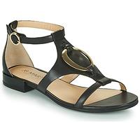 Chaussures Fille Sandales et Nu-pieds JB Martin BOCCIA Noir