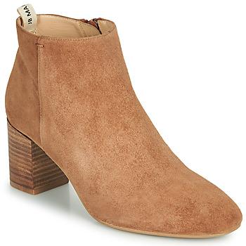 Chaussures Fille Bottes ville JB Martin 3ALIZE Marron