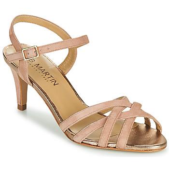 Chaussures Femme Ballerines / babies JB Martin PIRIA Marron