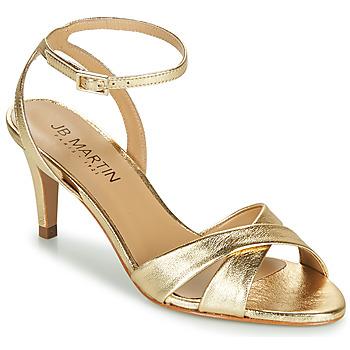 Chaussures Femme Sandales et Nu-pieds JB Martin POETIE Doré
