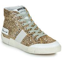 Chaussures Femme Baskets montantes Meline NKC1369 Doré