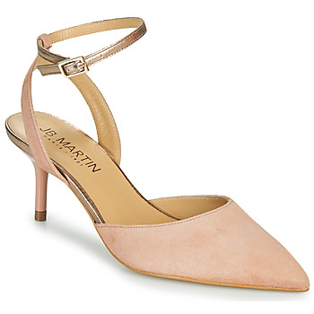 Chaussures Femme Sandales et Nu-pieds JB Martin TWISTO Marron