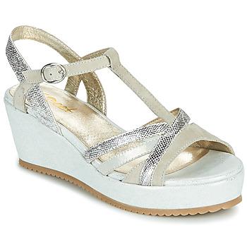 Chaussures Femme Sandales et Nu-pieds Sweet ESNOU Blanc