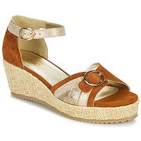 Chaussures Femme Sandales et Nu-pieds Sweet ESTERS Doré / Camel