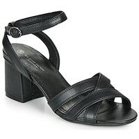Chaussures Femme Sandales et Nu-pieds The Divine Factory LS2115 Noir