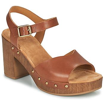 Chaussures Femme Sandales et Nu-pieds Unisa TACO Camel