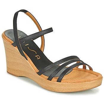 Chaussures Femme Sandales et Nu-pieds Unisa RENERA Noir