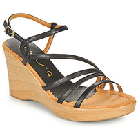 Chaussures Femme Sandales et Nu-pieds Unisa RABAL Noir