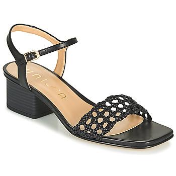 Chaussures Femme Sandales et Nu-pieds Unisa KEMPIS Noir