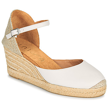 Chaussures Femme Sandales et Nu-pieds Unisa CACERES Blanc