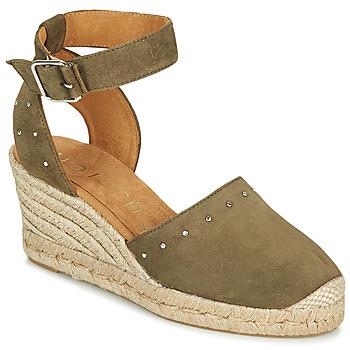 Chaussures Femme Sandales et Nu-pieds Unisa CLIVERS Kaki