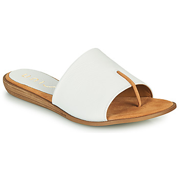 Chaussures Femme Tongs Unisa ACHO Blanc