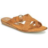 Chaussures Femme Tongs Unisa ADRIEL Camel