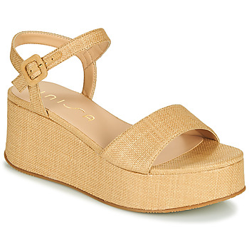 Chaussures Femme Sandales et Nu-pieds Unisa LAIKI Beige