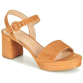 Chaussures Femme Sandales et Nu-pieds Unisa NENES Camel