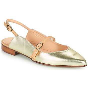 Chaussures Femme Ballerines / babies Fericelli SUSANNA Doré