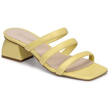 Chaussures Femme Mules Fericelli TIBET Jaune
