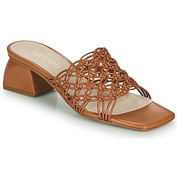 Chaussures Femme Mules Fericelli TELIA Camel