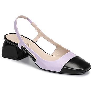 Chaussures Femme Escarpins Fericelli TOUBET Violet / noir