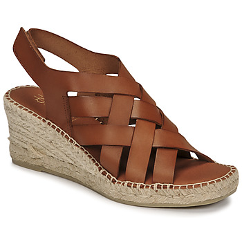 Chaussures Femme Sandales et Nu-pieds Fericelli ODALUMY Camel