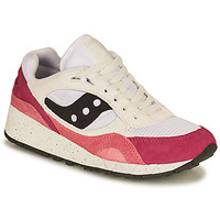 Chaussures Femme Baskets basses Saucony SHADOW 6000 Blanc / Rose
