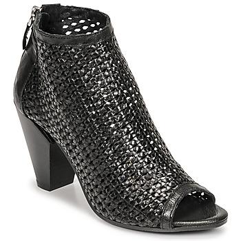 Chaussures Femme Low boots Mimmu INTRECCIO-NERO-PARKER Noir