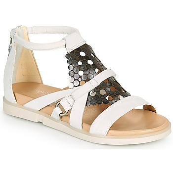 Chaussures Femme Sandales et Nu-pieds Mjus KETTA Blanc / Argent