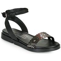 Chaussures Femme Sandales et Nu-pieds Mjus KETTA Noir / Argenté