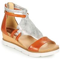 Chaussures Femme Sandales et Nu-pieds Mjus TAPASITA Brique / argenté
