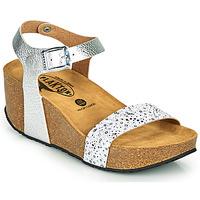 Chaussures Femme Sandales et Nu-pieds Plakton SO KISS Argenté
