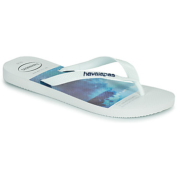 Chaussures Homme Tongs Havaianas HYPE Blanc / Bleu