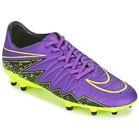 Chaussures Homme Football Nike HYPERVENOM PHELON II FG Violet