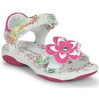 Chaussures Fille Sandales et Nu-pieds Primigi SARAH Blanc / Multico