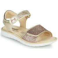 Chaussures Fille Sandales et Nu-pieds Primigi CYRIELLE Doré