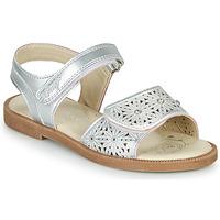Chaussures Fille Sandales et Nu-pieds Primigi MICHELLE Argenté
