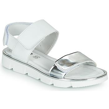 Chaussures Fille Sandales et Nu-pieds Primigi ANNA Blanc / Argenté