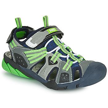 Chaussures Garçon Sandales sport Primigi ANATI Gris / Vert