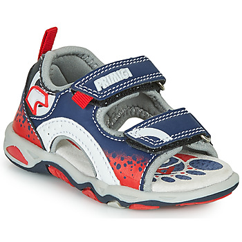 Chaussures Garçon Sandales et Nu-pieds Primigi FRANG Marine / Rouge