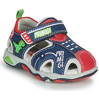 Chaussures Garçon Sandales sport Primigi ANIS Bleu / Rouge / Vert