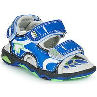 Chaussures Garçon Sandales et Nu-pieds Primigi YANIS Bleu / Vert
