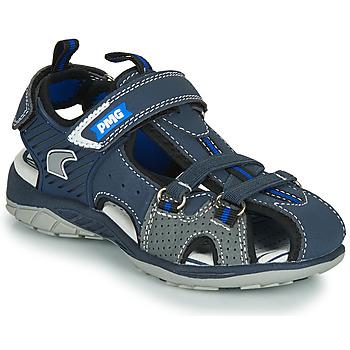 Chaussures Garçon Sandales sport Primigi SIXTINE Marine / Gris