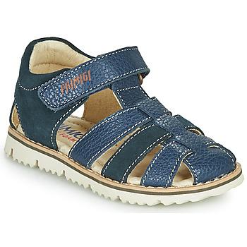 Chaussures Garçon Sandales et Nu-pieds Primigi PIETRA Marine