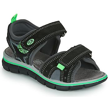Chaussures Garçon Sandales et Nu-pieds Primigi NOIRA Noir / Vert