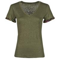 Vêtements Femme T-shirts manches courtes Ikks JOULITA Kaki