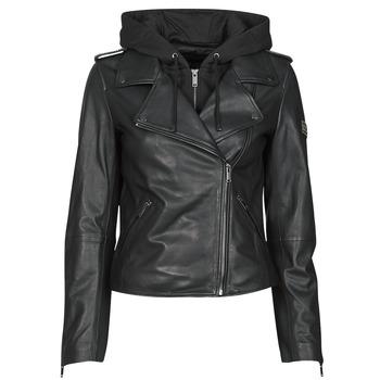 Vêtements Femme Vestes en cuir / synthétiques Ikks TROUGN Noir