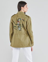 Vêtements Femme Vestes / Blazers Ikks ECRUSS Vert Pacifique