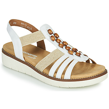 Chaussures Femme Sandales et Nu-pieds Remonte Dorndorf GRISSA Blanc / Gris